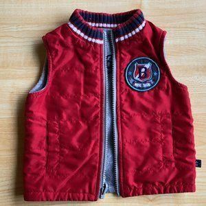 3/$12 ⭐️ Varsity Style Vest- 12 Months